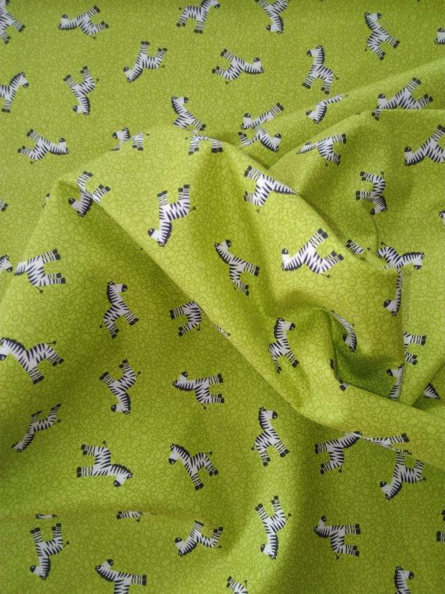 Tissu coton Les P'tits Zèbres