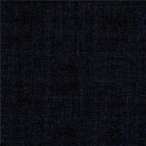 Tissu coton effet lin Noir