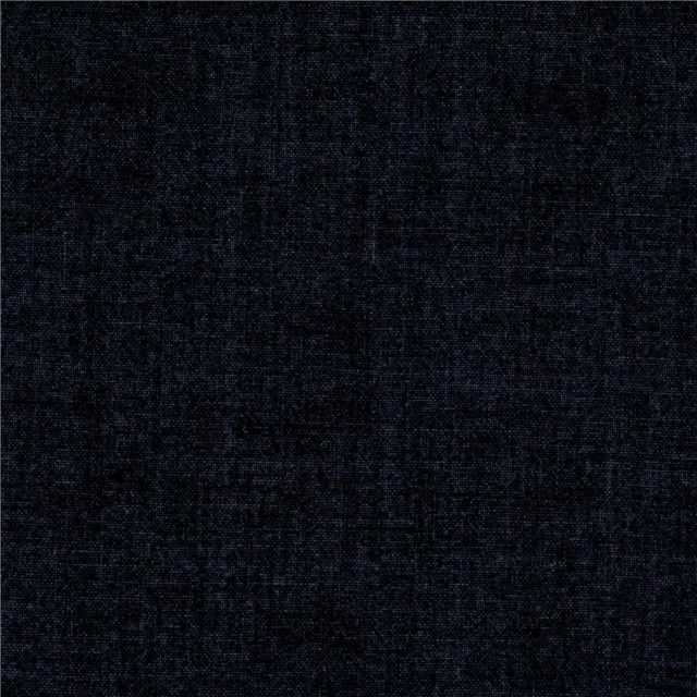 Tissu coton Noir Linen txture fabric