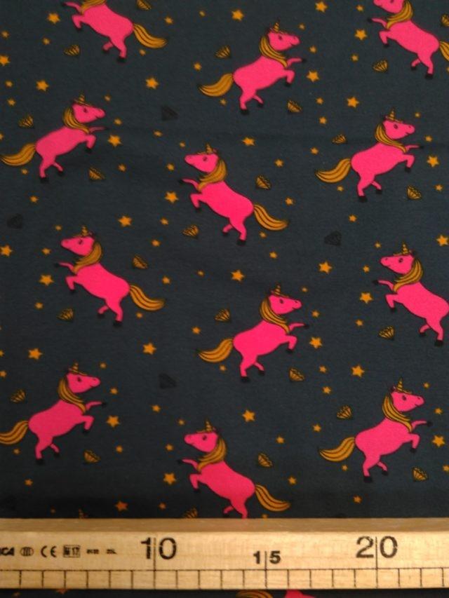 Tissu jersey sacrées licornes