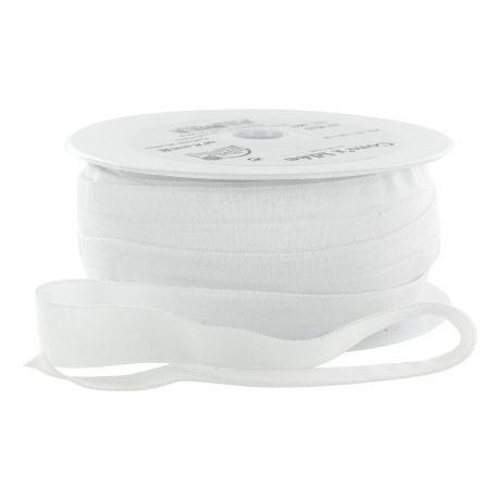 Biais élastique blanc