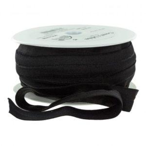 Biais – bordure élastique noir