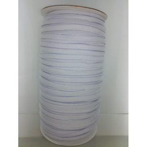 Élastique 7 mm blanc