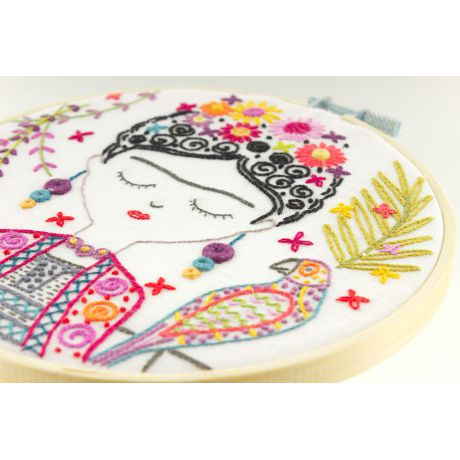 Jolie Frida - kit broderie