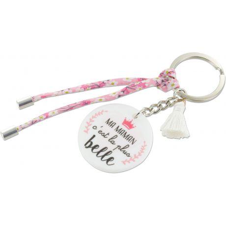 Kit porte clé ma maman c est la plus belle 1