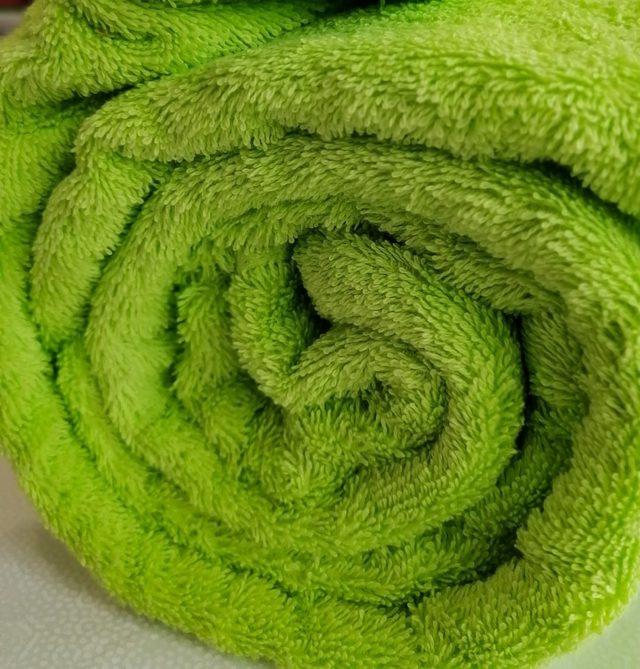 Tissu éponge Anis