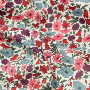 Tissu Liberty Poppy daisy  (x 10cm)