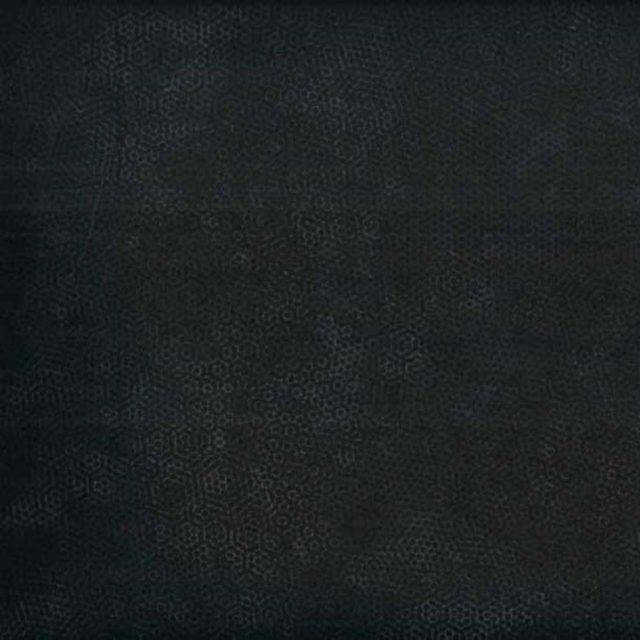 Tissu coton makower-dimples-charcoal-noir laize 110cm