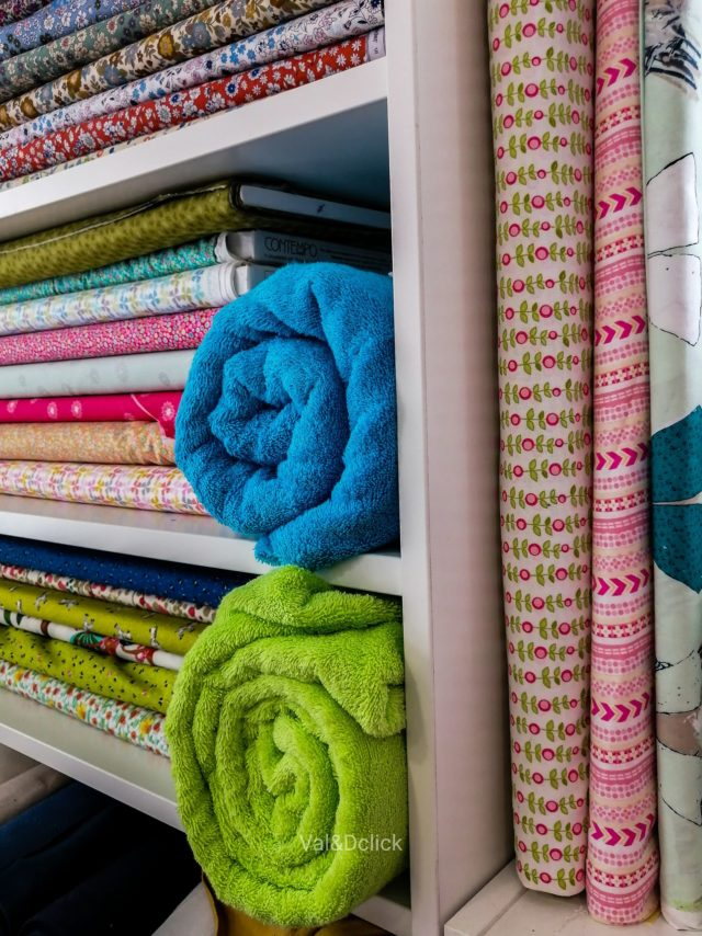 Tissus coton et éponge - La Boutik Créative de Rives