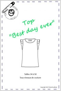 Patron Top Best Day Ever – Dress your Body