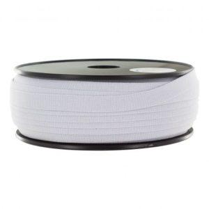 Elastique bracelet blanc 11mm