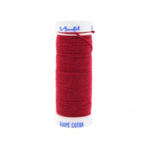 Fil Lastex lebaufil 20m rouge
