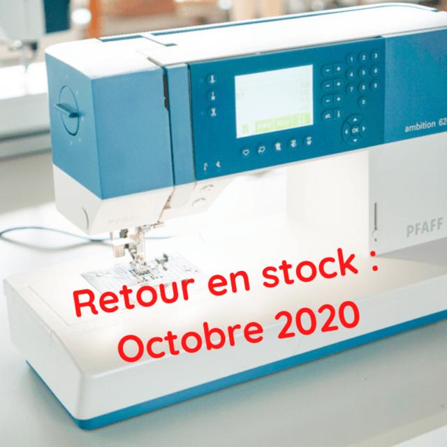 PFAFF Ambition 620 retour en stock octobre 2020