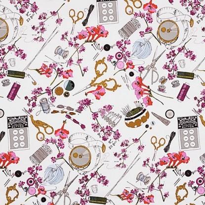 Tissu coton Couture gothiqueA H A The Ghastlies