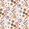 Tissu coton automne stylisé Dashwood flourish