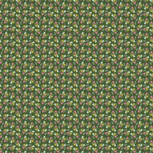 Tissu coton sweet little leaves laize 150cm (x10cm)
