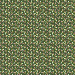 Tissu coton sweet little leaves laize 150cm (x10cm)