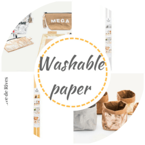 Washable Paper