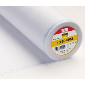 Entoilage Vlieseline léger thermo 90cm blanc