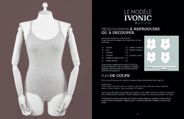Le Body de Marie modele IVONIC