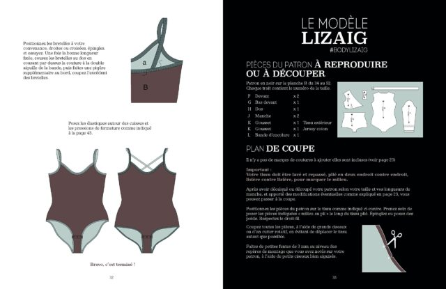 Le Body de Marie modele LIZAIC