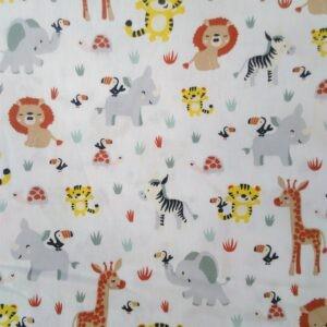Tissu coton Savana Animalas laize 150cm