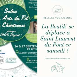 Salon Les Arts du Fil en Chartreuse