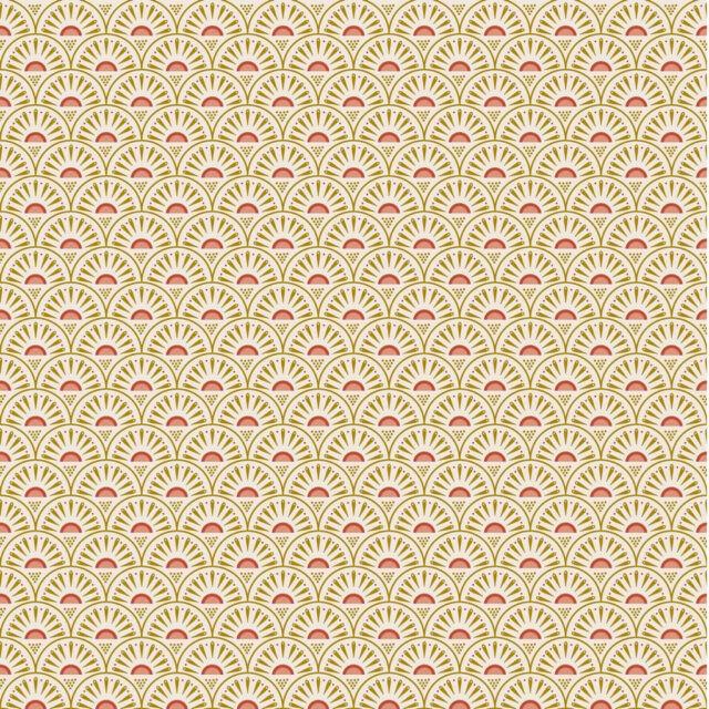 Popeline de coton Retro graphic écru pn-0190735_8221-003