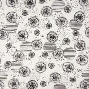 Tissu jersey Black & White (x10cm)