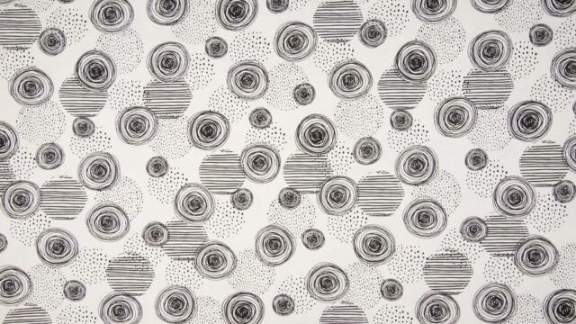 Tissu jersey Black&White laize 145cm