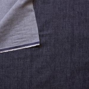 Denim bio Moyen bleu foncé 100% coton GOTS (x10cm)