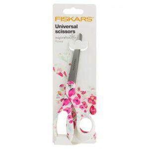 Ciseaux fiskars inspiration fleurs 21 cm
