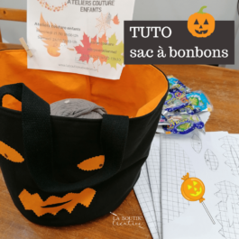 Le sac à bonbons d'halloween