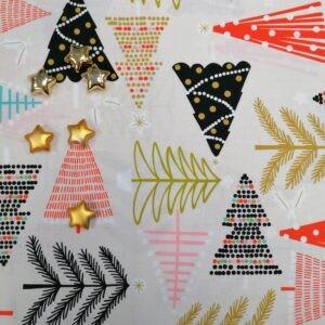 Tissu Coton Holiday Pines By Alexander Henry Fabrics