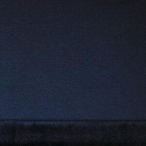 Tissu fausse fourrure marine (x50cm)