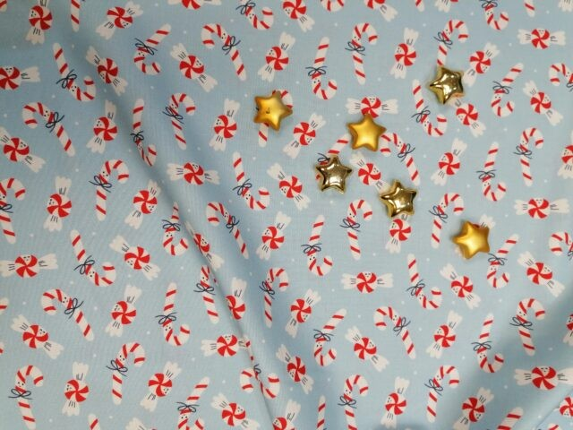 Tissu coton bio Sweet Christmas by Cloud9 4