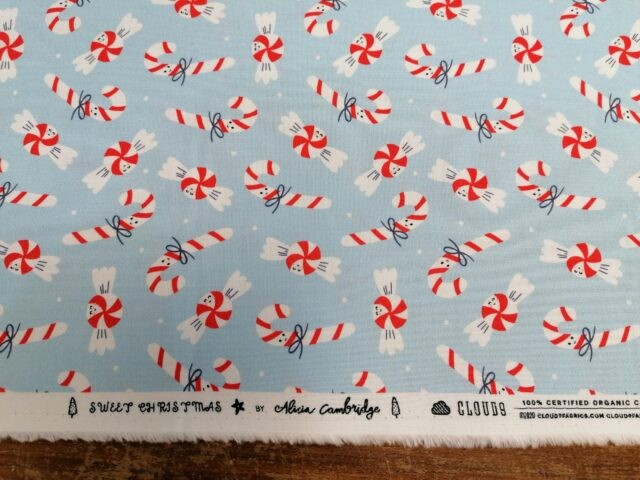 Tissu coton bio Sweet Christmas by Cloud9 5