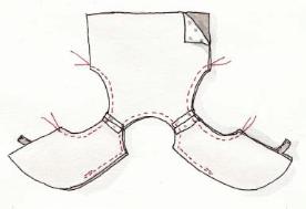 Gilet de Berger Kit de la Boutik' Créative de Rives Image2