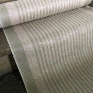 Tissu lin Torlino Blanc (x10cm)