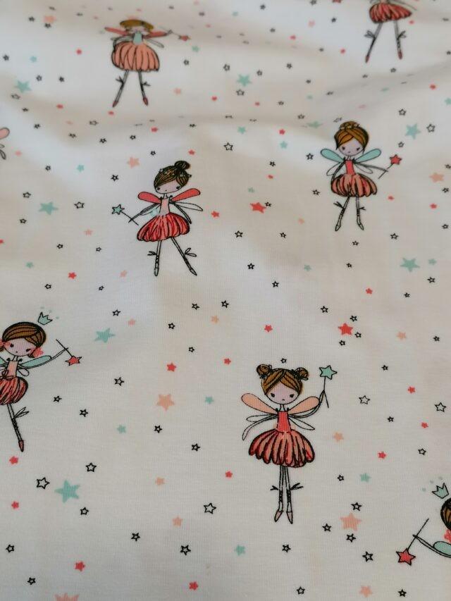 Tissu jersey les danseuses a La Boutik Creative de Rives