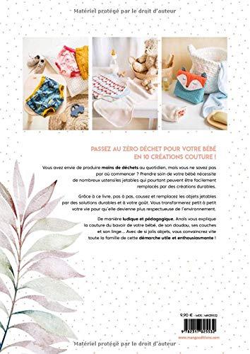 couture zéro déchet pour bébé dos couv à La Boutik' Creative de Rives