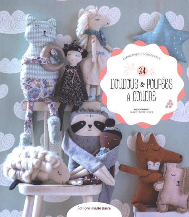 24 doudous et poupées à coudre