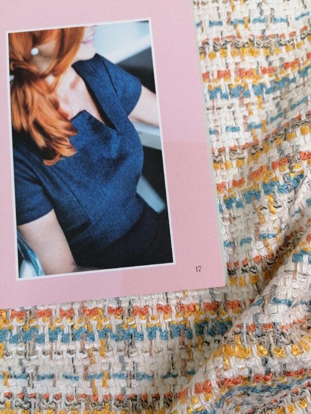 Tissu Style Chanel et revue LNV à la Boutik Créative de Rives