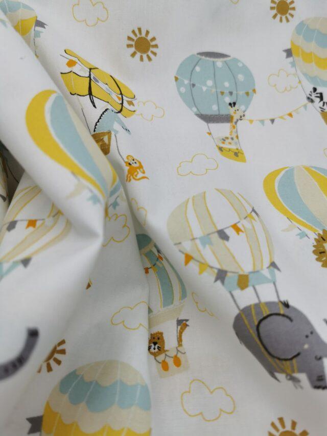 Tissu coton Les Montgolfières fées un voeux (2)