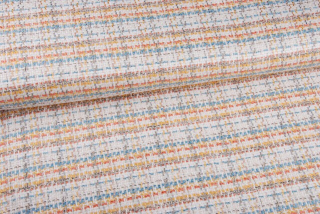Tissu tweed léger style Chanel