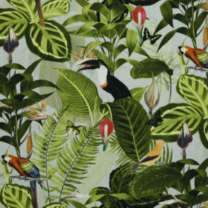 Toile de coton canva « In The Tropics »