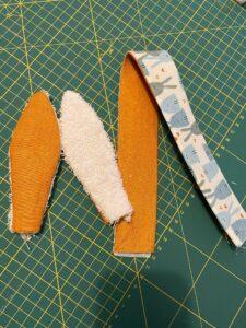 Oreilles et anse - Panier de Pâques - tuto de La Boutik Créative de Rives