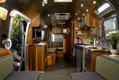 The Airstream 75th Anniversary trailer