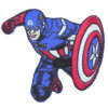 Thermocollant avengers captain america 5 x 7,5 cm