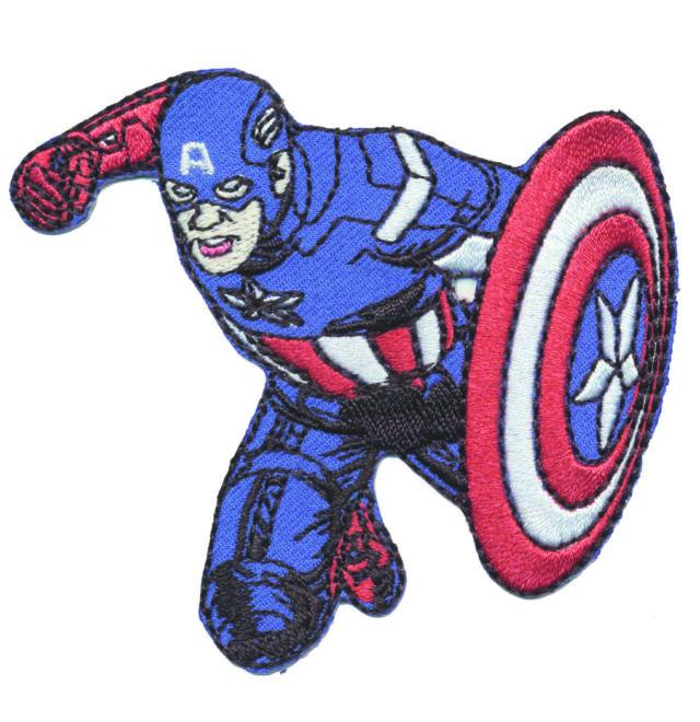 Thermocollant avengers captain america 5 x 7,5 cm